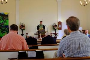 daniel preaching