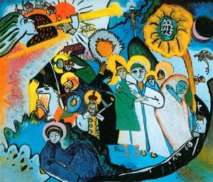 kandinsky all saints I, 1911