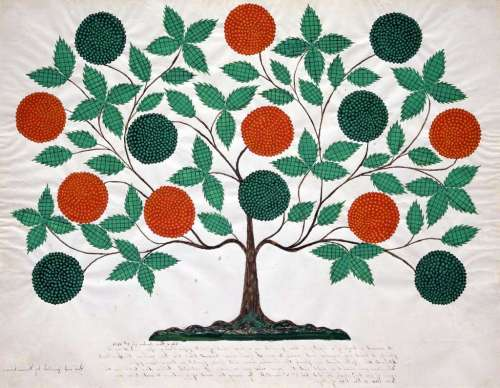hannah cohoon tree of life 1854